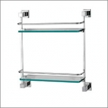 Grolo Alisha Double Glass Shelf