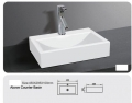 Grolo B9045 Counter Basin