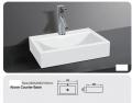 Grolo B9045 Counter Basin