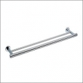 Grolo Modena Double Towel Rail 700mm