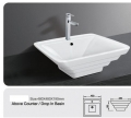 Grolo TBB116 Above Counter /Drop in Ceramic Basin