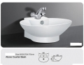 Grolo TBB 213 Above Counter Ceramic Basin