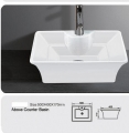 Grolo TBB-236 Above Counter Ceramic Basin