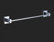 "Grolo ""Elena"" Single Towel Rail 600mm"