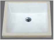 Grolo TBB238 Square under counter basin