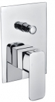 "Grolo ""Amalfi"" Wall Mixer with Diverter"