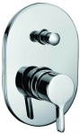 "Grolo ""Claudia"" Wall Mixer with Diverter"