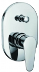"Grolo ""Lindy"" Wall Mixer with Diverter"