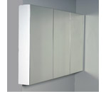 Grolo Pencil-Edge Mirrored Shaving Cabinet 1200 x 600mm